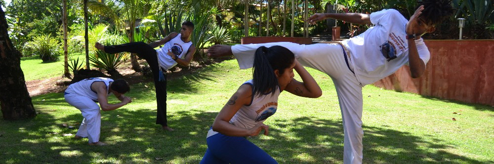Capoeira Camp Salvador Bahia Brazil group training